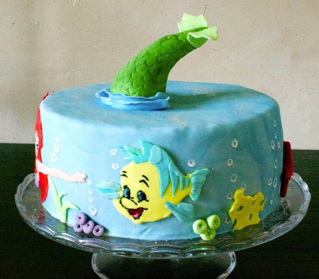 Under The Sea Arielle Torte Laura Dreams Of Cakes