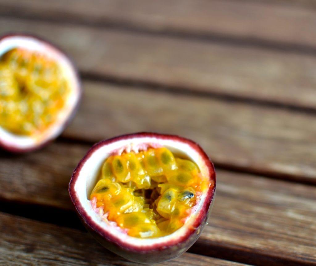 Passionsfruchttarte