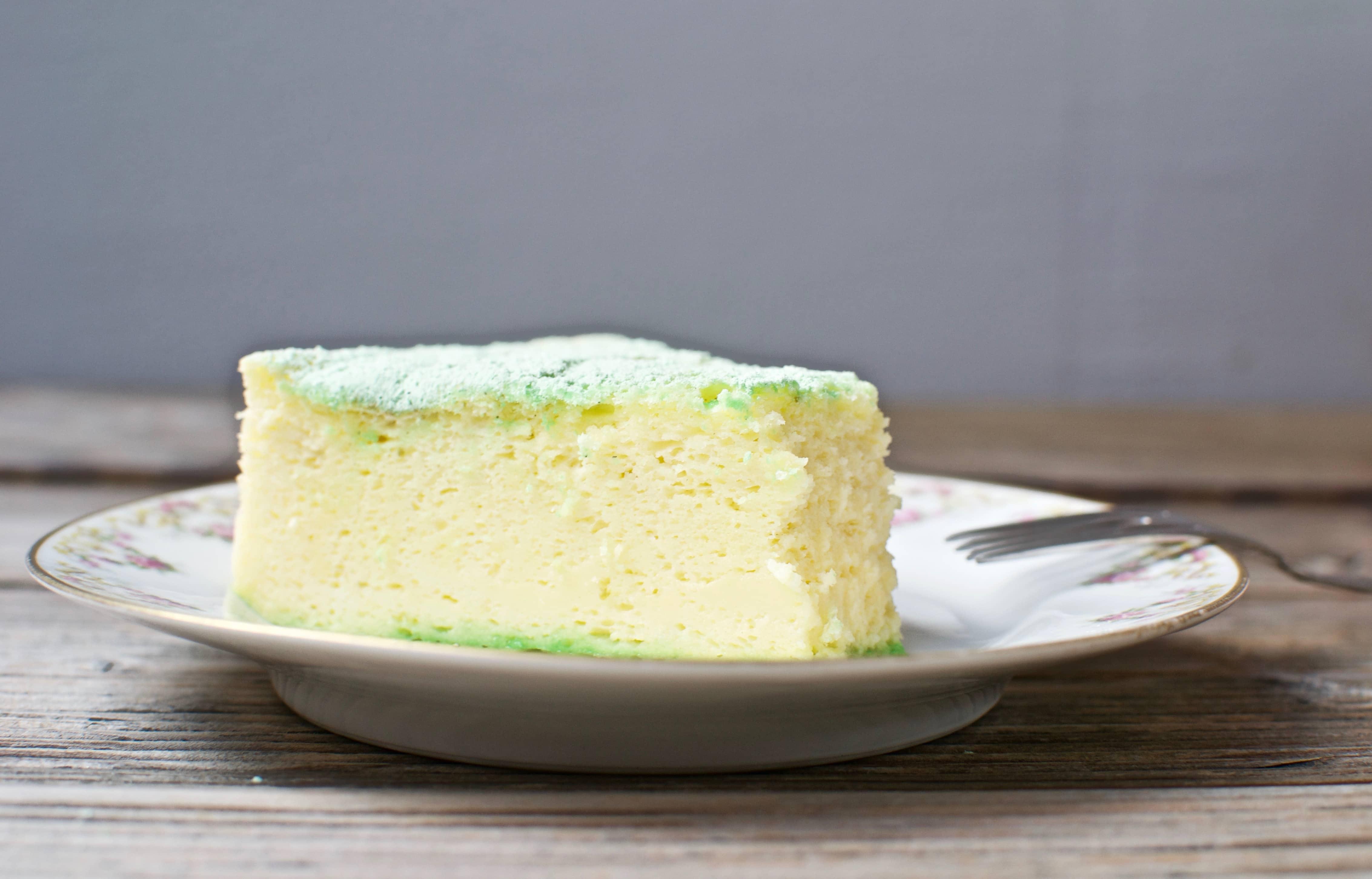 Japanese Cheesecake bite