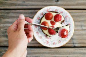 französische Erdbeer-Tarte
