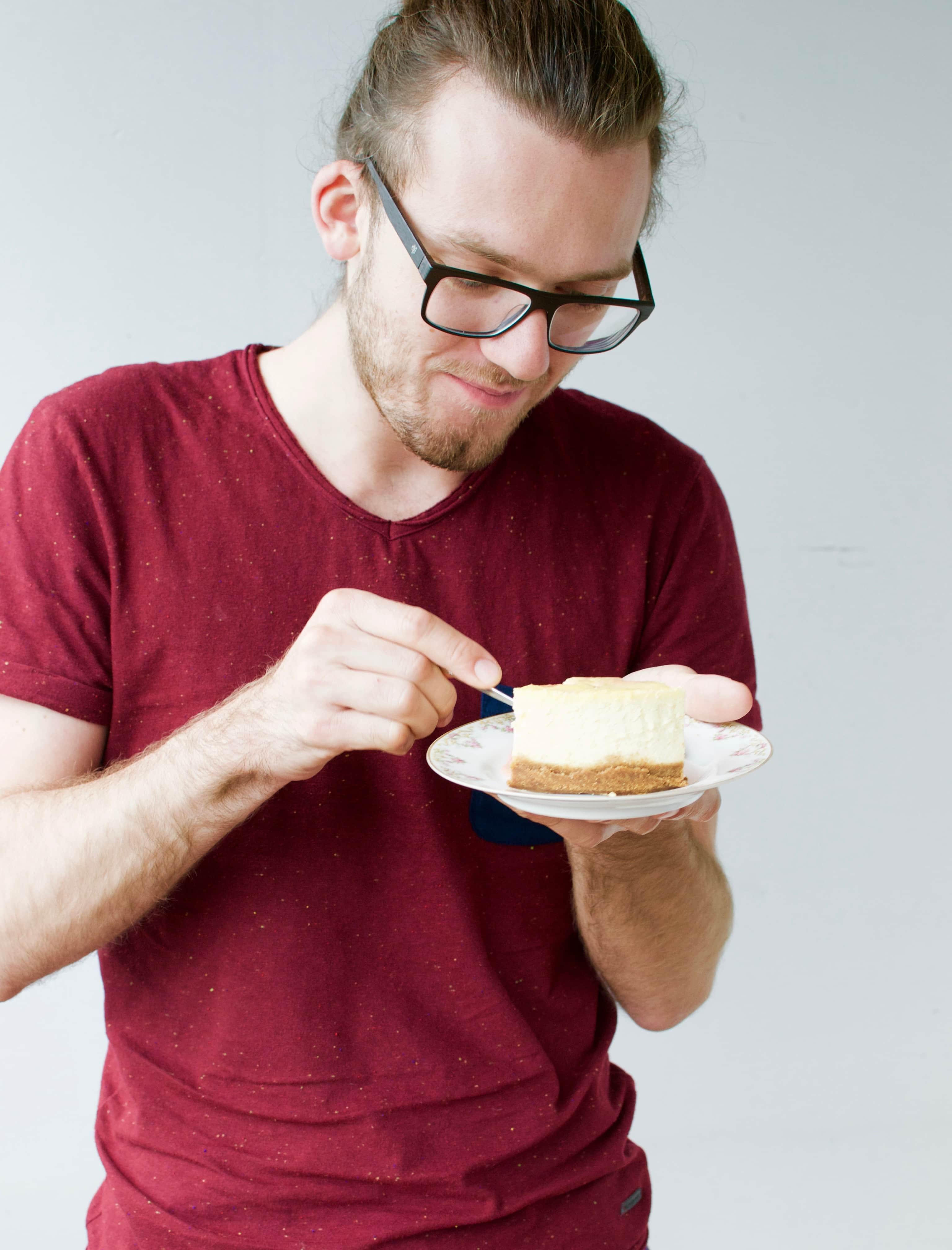 Rhabarber Cheesecake