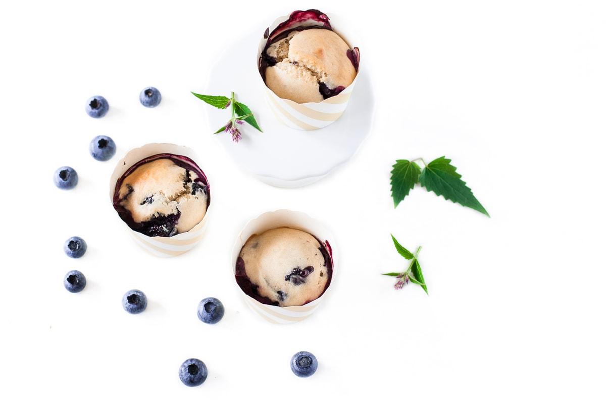 Vegane Heidelbeer Muffins