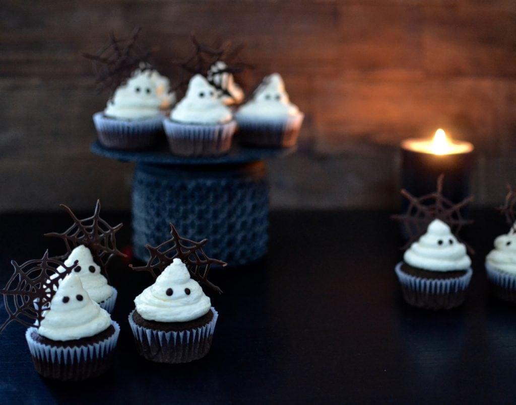 Geister Cupcakes
