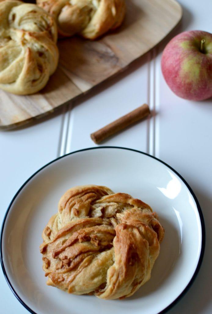 Apfel Zimt Knoten
