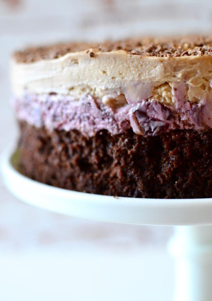 Maroni Kirsch Torte