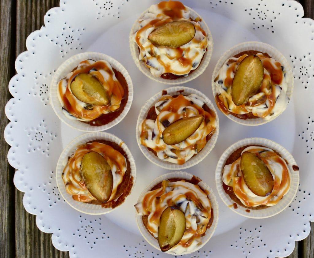 Zwetschken Cupcakes