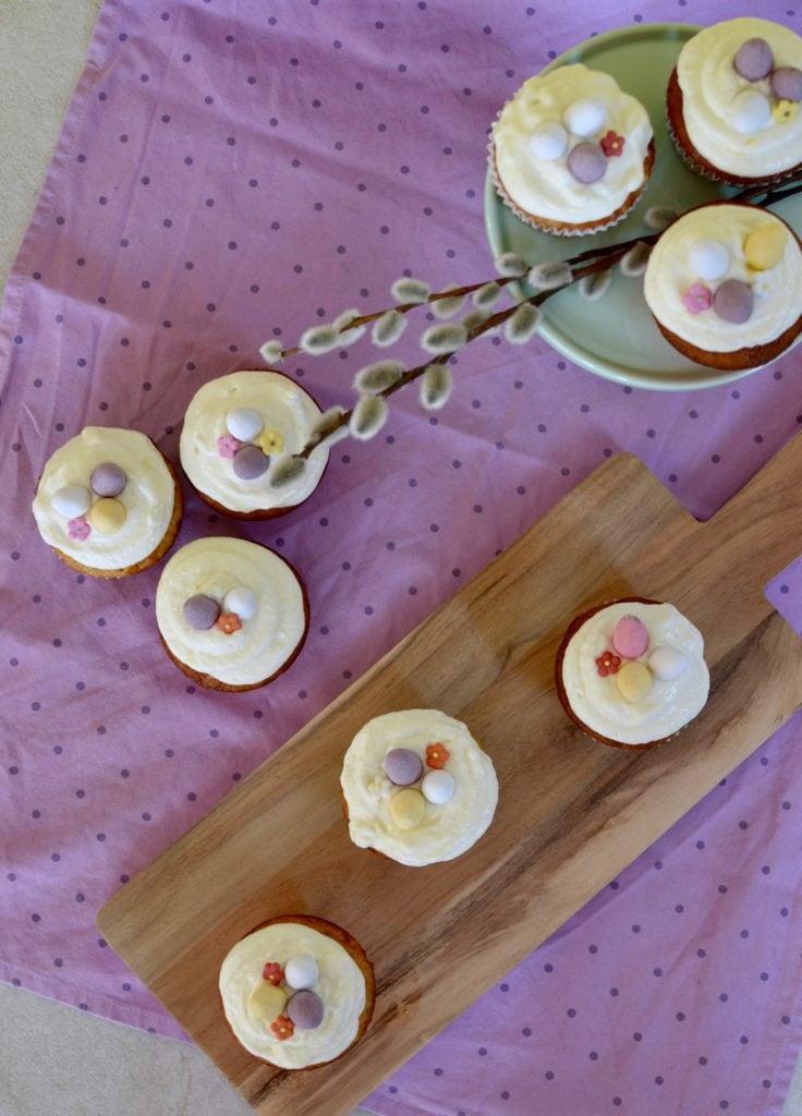 Zitronencupcakes Ostern