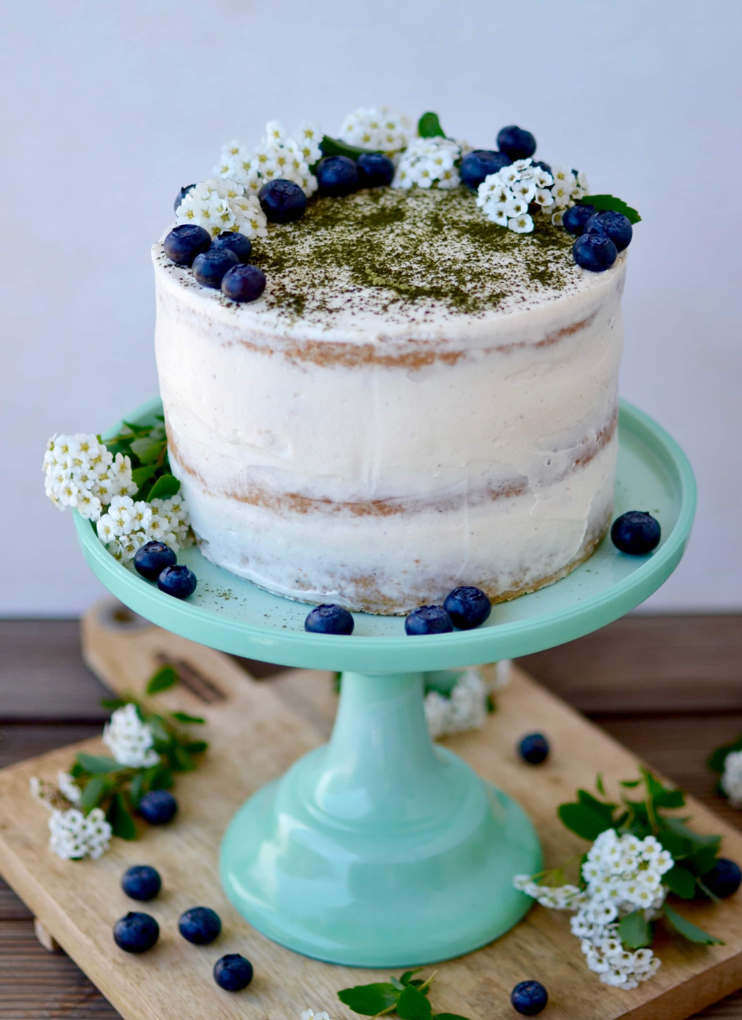 Matcha Torte mit weißer Schokolade {MuttertagsIdeen}