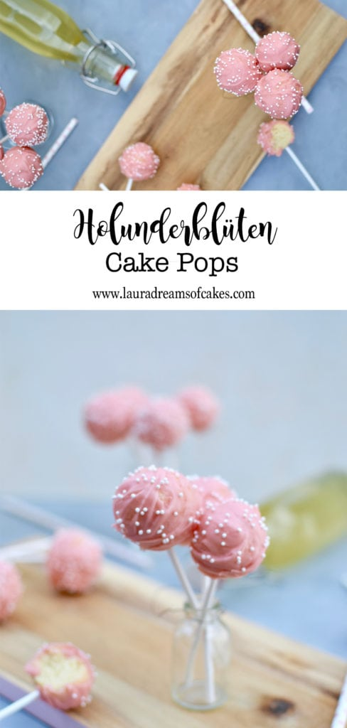 Zauberhafte Holunder Cake Pops!