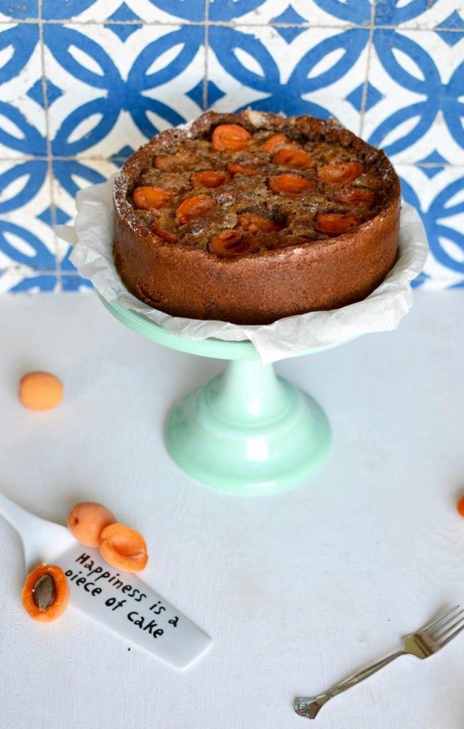 Dinkel Marillen Kuchen