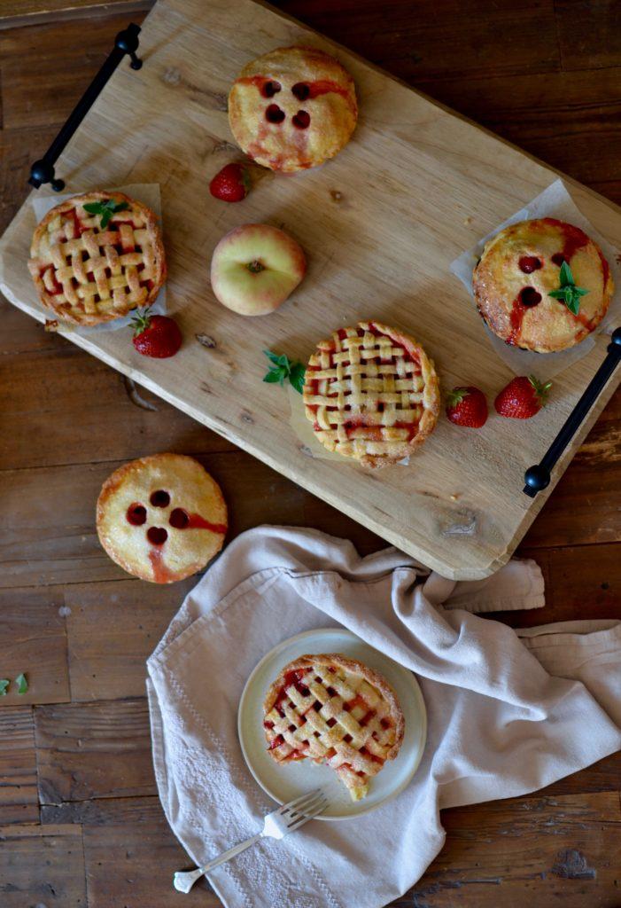 Erdbeer Pfirsich Pie