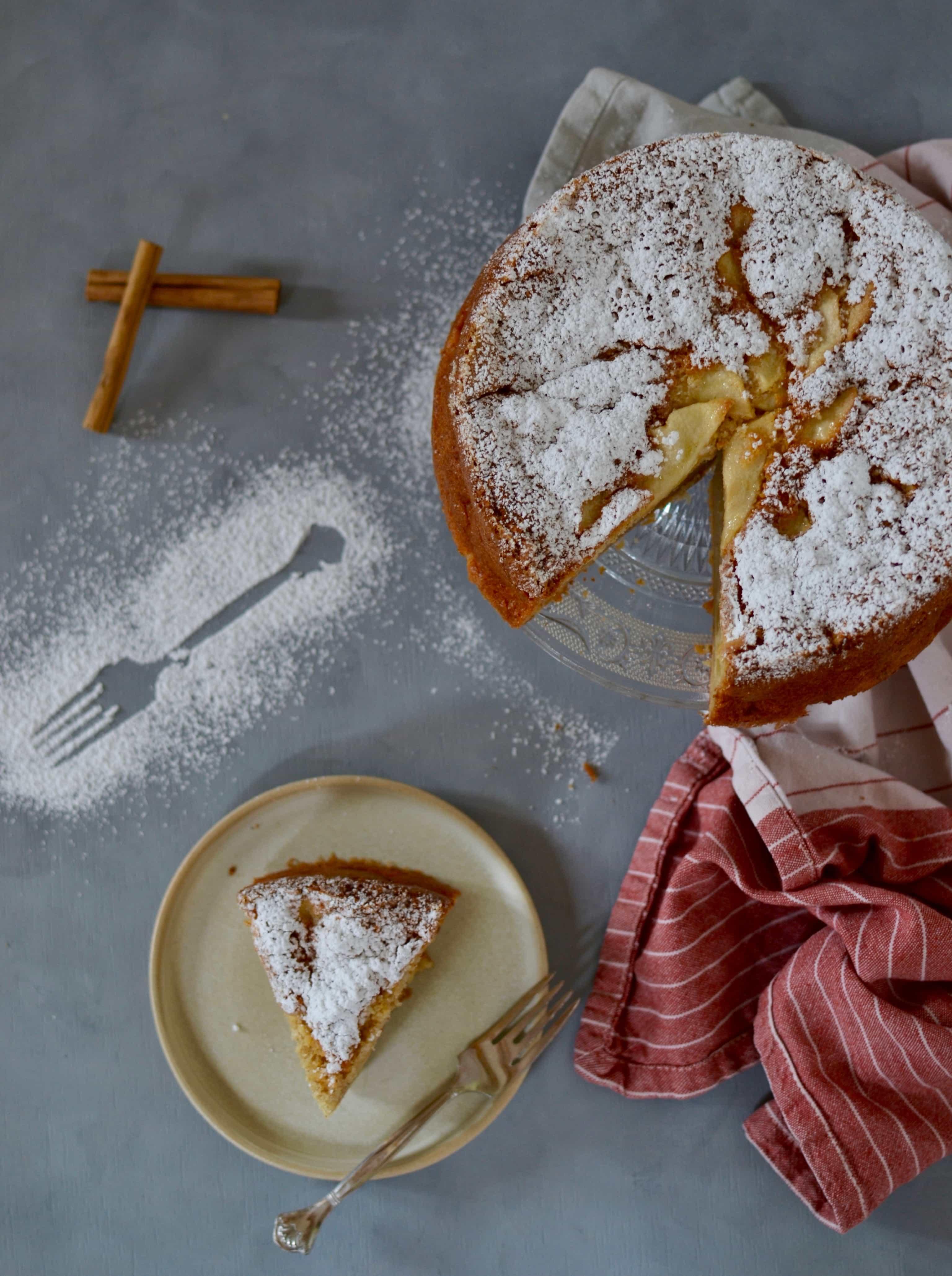 Herbstliebe: Schneller Apfelkuchen