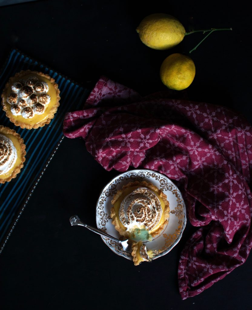 Zitronentartelettes Tartelettes au Citron