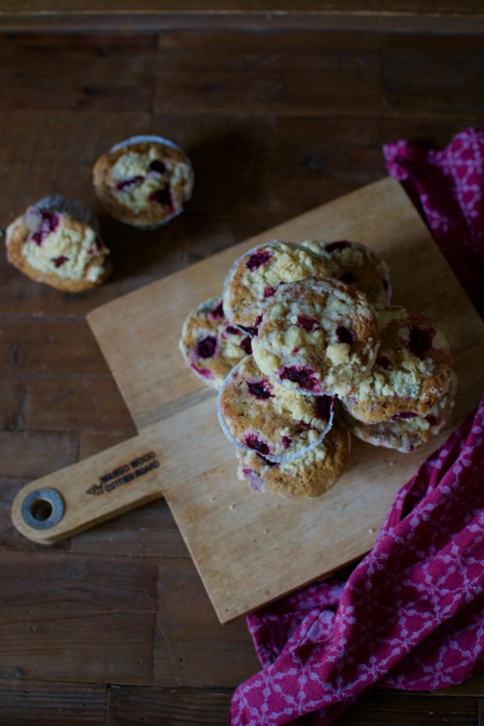 Himbeer Streusel Muffins