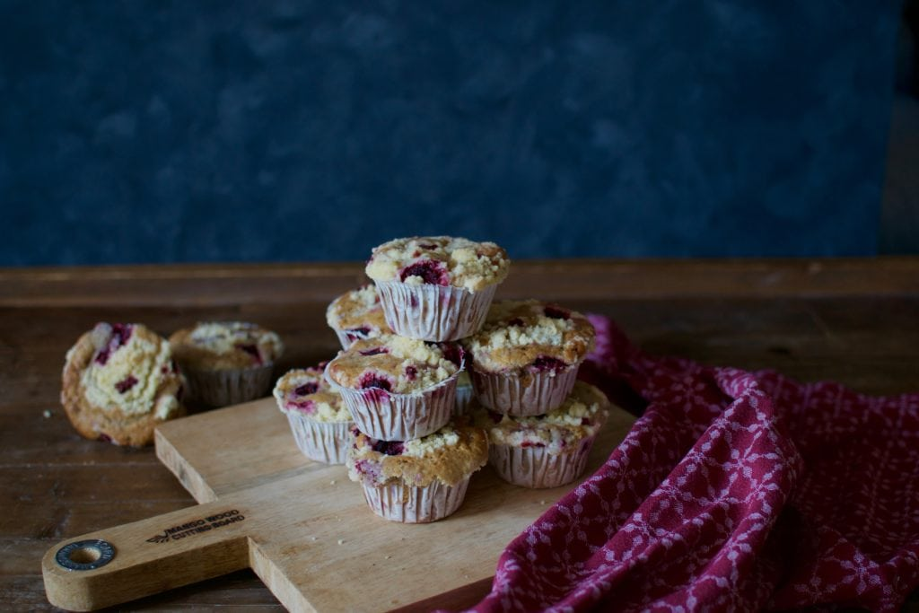 Himbeer Streusel Muffins